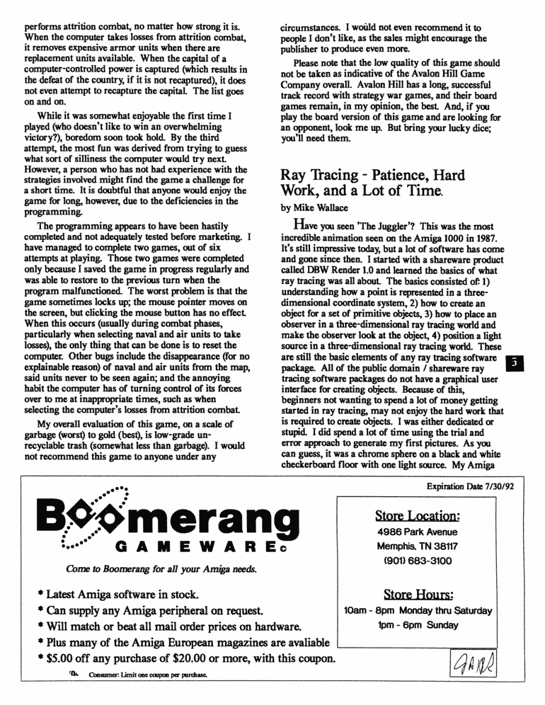June 1992 MAGazine Page 5
