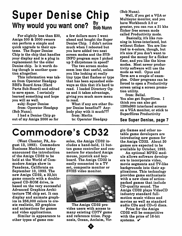 September 1993 MAGazine Page 6