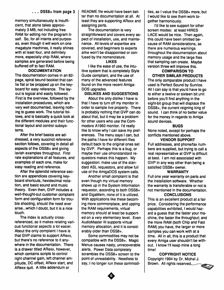 June 1994 MAGazine Page 6